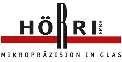 Logo Hörri Mikropräzision in Glas